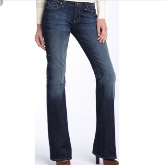 PAIGE Denim - Paige Hollywood Hills Boot Cut Jeans. Size 25